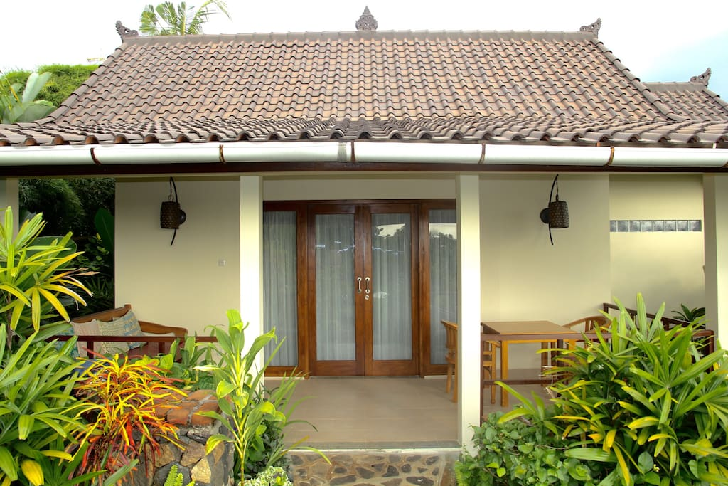 Bungalow IKAN with seaview