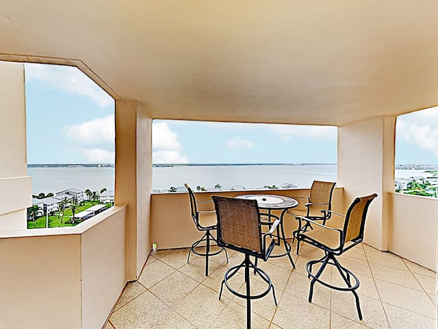 New Listing! Beachfront Perch w/ Gulf Views & Pool