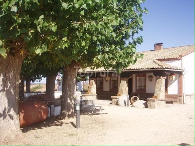 El Bosque: CASA RURAL campo finca vallada BARBACOA