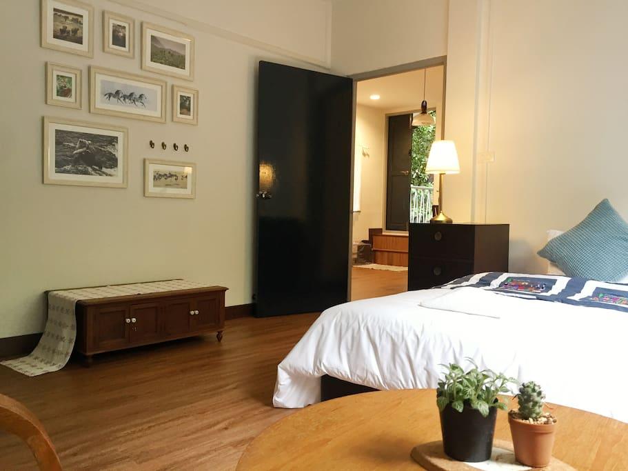 The Cozy master bedroom