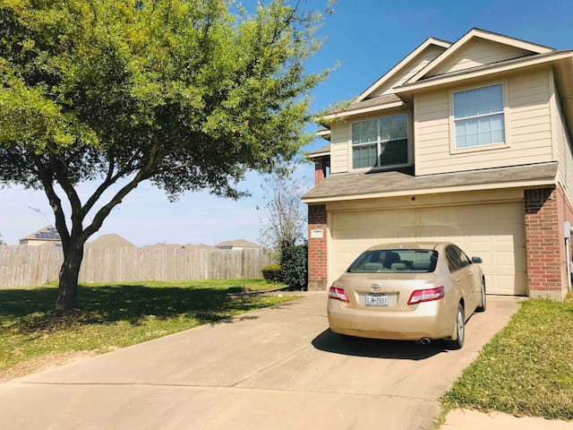 Peaceful Single Room in Katy with Apple TV