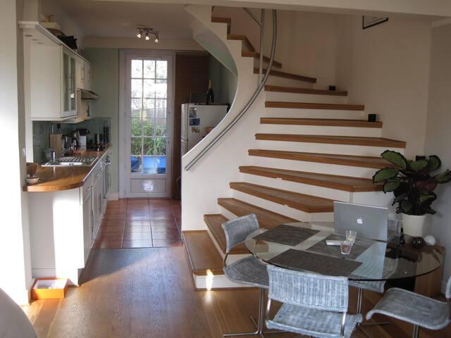 Charming quiet 2BR villa with garden, BBQ, parking - Antibes - Villa
