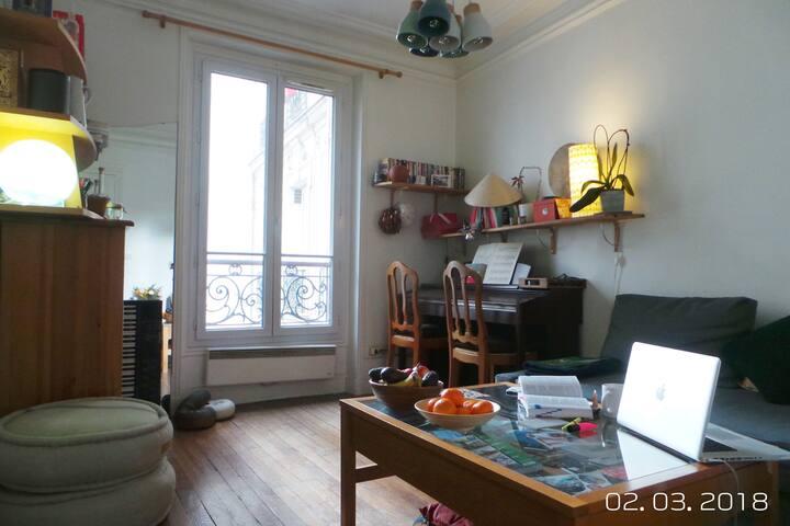 Appartement sur cour - 1 ou 2 chbres // Courtyard