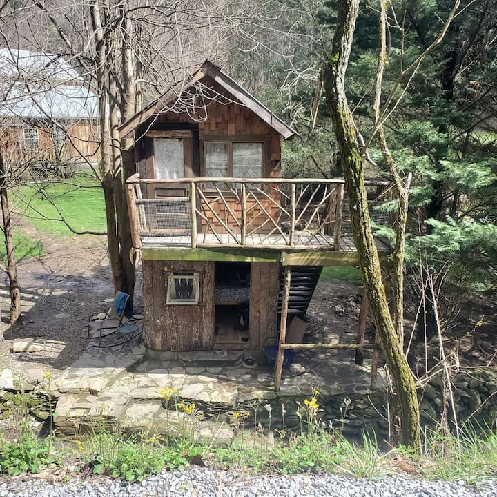 Standing Bear  Hostel Lower Treehouse