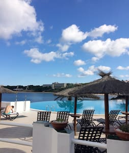 White sands 2 rooms with beautiful sea views - Arenal d'en Castell