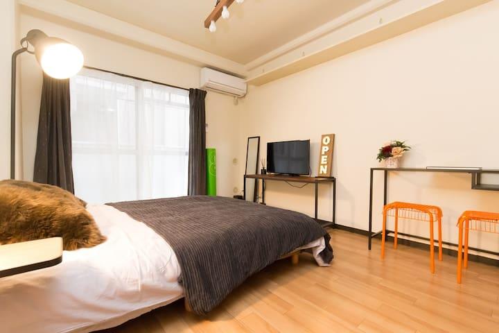 1 Bedroom Apt nr2STAs 1min>Ueno Easy>Asakusa WiFi