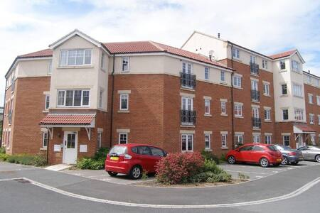 Private 2 bed apartment, Darlington - Appartement