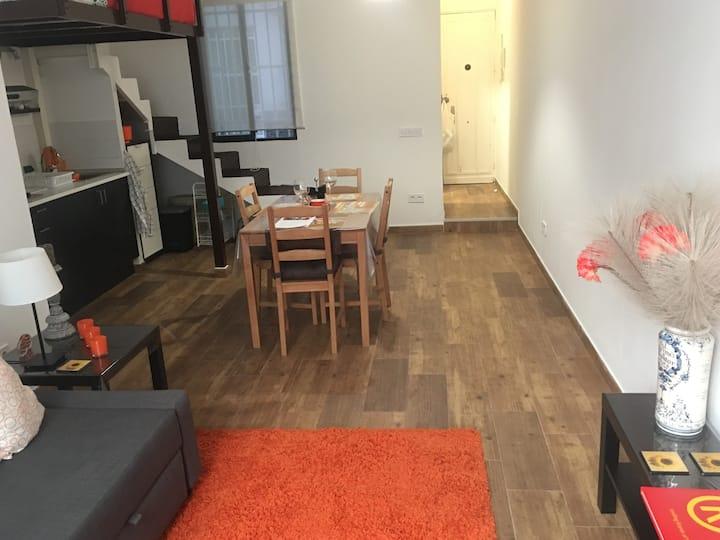 Encantador estudio tipo loft  en El Viso - Madrid