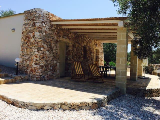Holiday houses Corte Giulia (La casetta) - Pescoluse - Hus