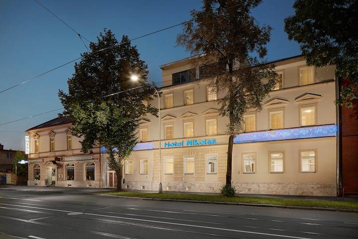 Studio s kuchyňkou v hotelu Nikolas Ostrava