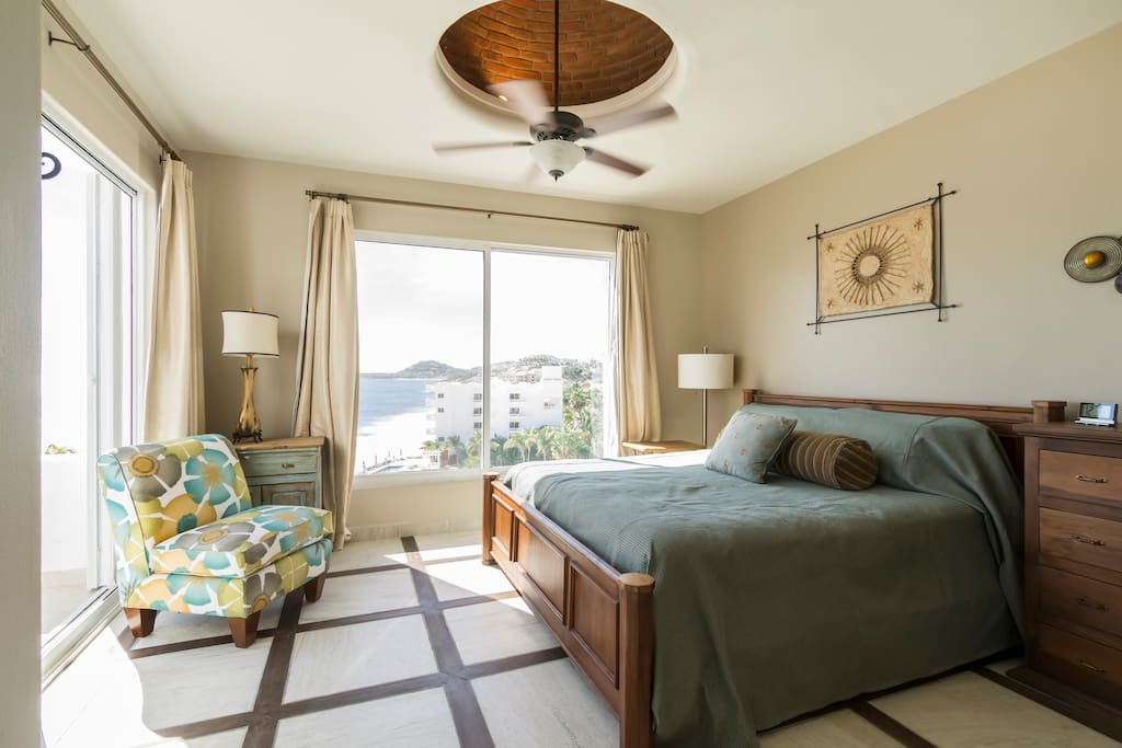 Oceanfront ph sleeps 7 180 terrace condominiums for rent in san jos del cabo baja Master bedroom for rent in san jose