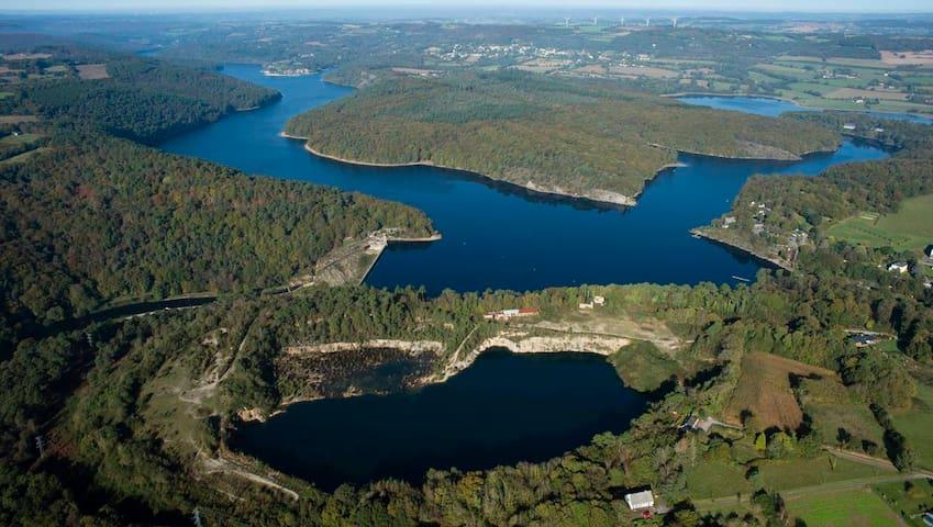 Pays de Guerlédan - au Sud des Côtes d'Armor