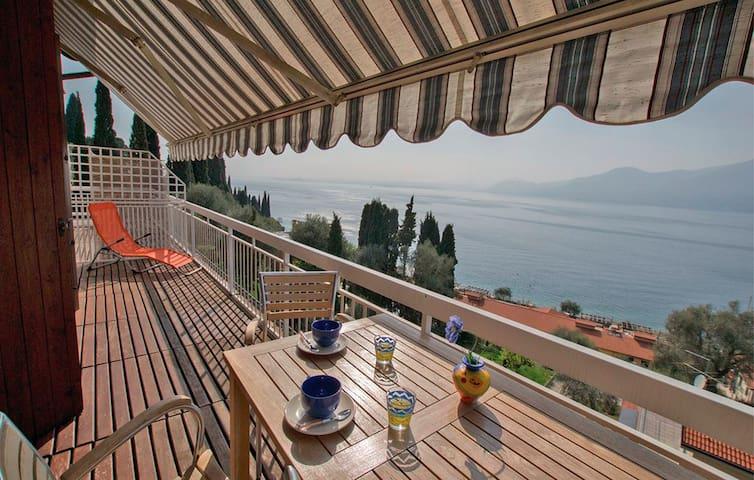 Vista fantastica sul Lago di Garda