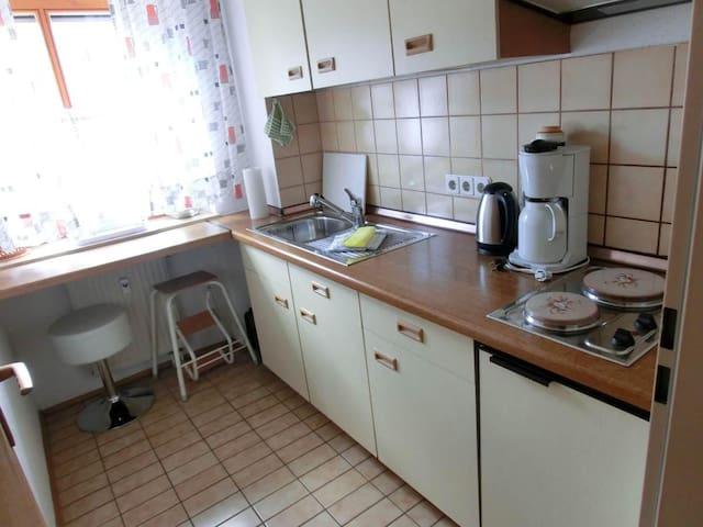 Appartementhaus Margarita (Bad Füssing), Einzimmer-Appartement (35 qm) mit Terrasse