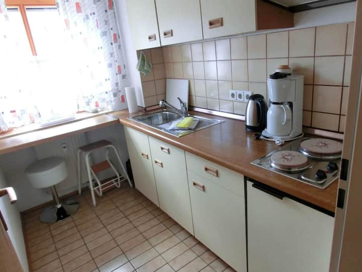 Appartementhaus Margarita (Bad Füssing), Einzimmer-Appartement (35 qm) mit Terrasse