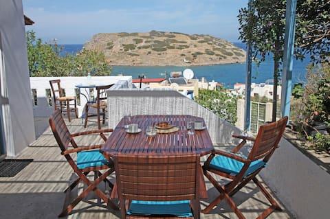 Mochlos Casa Del Mare Holiday House with Sea-view