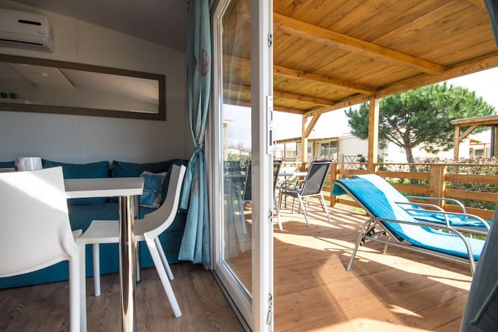 Mobile Home 5538 for 4+2 Persons - Umag - Daire