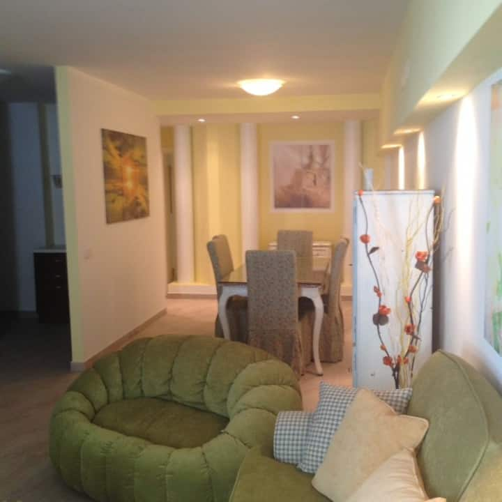 Big basement in villa near Monza and Milan