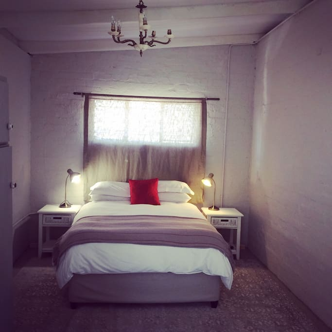 Double bed room with onsuite bathroom