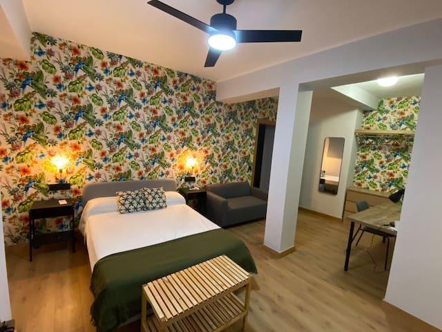 Dormitorios individuales con baño