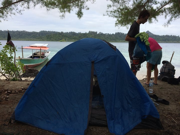 Banyak Island Camping