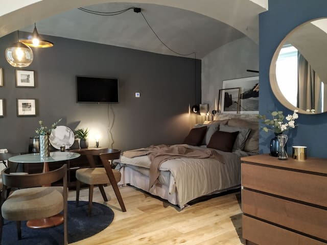 Stylish&Mysterious..NEW apt in the heart of Prague