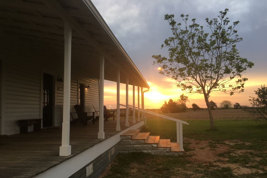 Another beautiful sunrise from the Bunk House porch