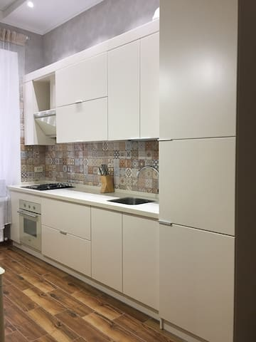 Modern and cozy apartment in Downtown Odessa