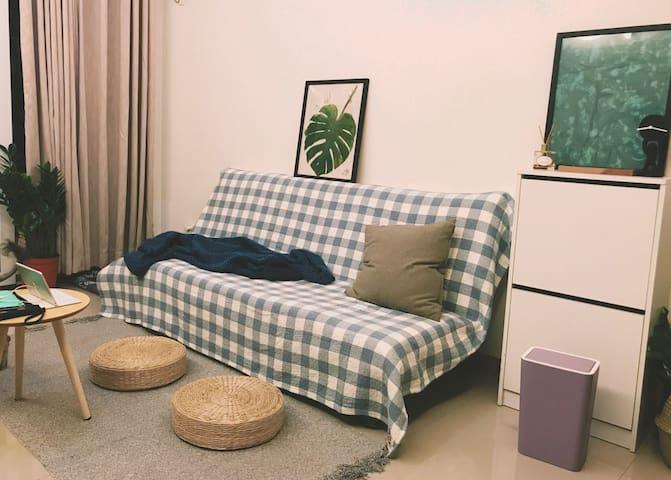 「莉莉便利屋」近解放碑日式舒适沙发铺位 这是沙发沙发!