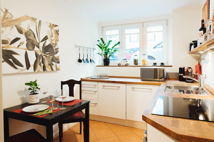 Charmantes Apartment, sehr zentral mit Elbnähe