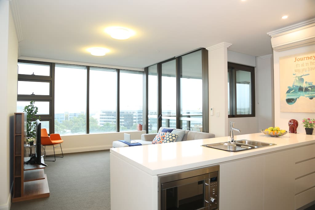Deluxe Two Bedroom Apartment At Olympic Park Apartments For Rent In Sydney Olympic Park New