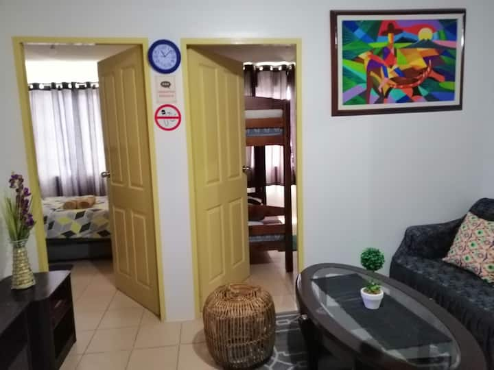 Iloilo Condotelle 2BR River&EsplanadeView W/ wifi