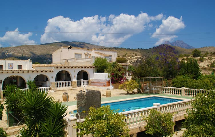 Fantastic country house with pool - La villajoyosa - House