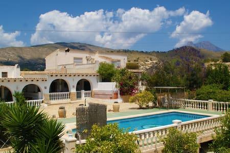Fantastic country house with pool - La villajoyosa - Casa