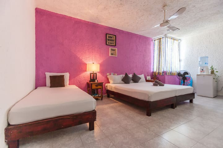 Private studio with roof terrace close to beach - Playa del Carmen