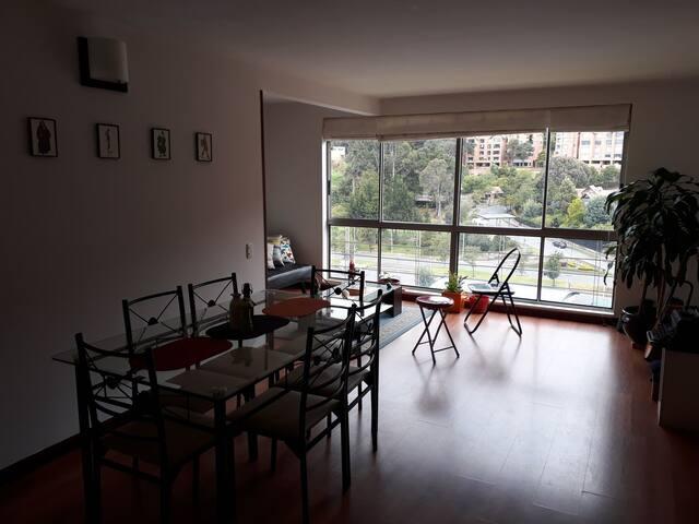 Excelente habitación con vista