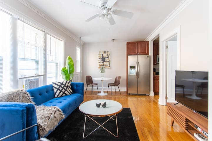 Bright and Spotless 1BR Apt In Lincoln Square