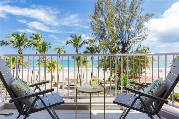 Solis Beach Flat | Right on the Beach | Ocean Views | Pool | Tennis - Carolina - Apartment