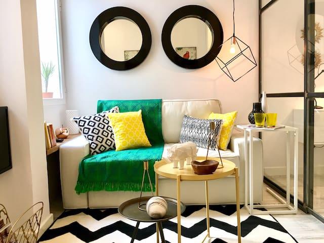 Luminoso apartamento reformado a estrenar