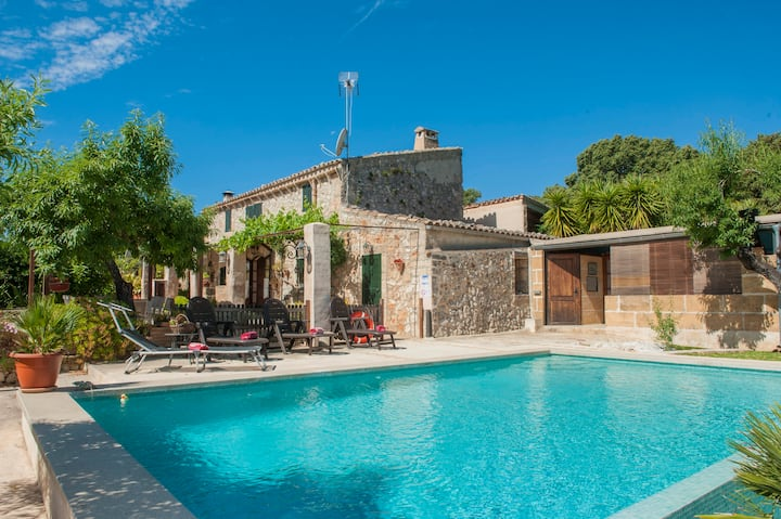 FINCA SON MATGINET 18 - Villa with private pool in SINEU.