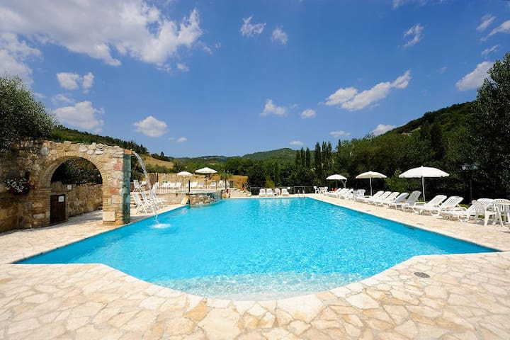 Apartments Umbrian countryside - 4/6 people - Pian della Pieve - Daire