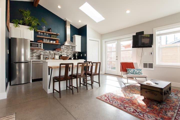 Fresh North Portland Studio - Portland - Casa de huéspedes