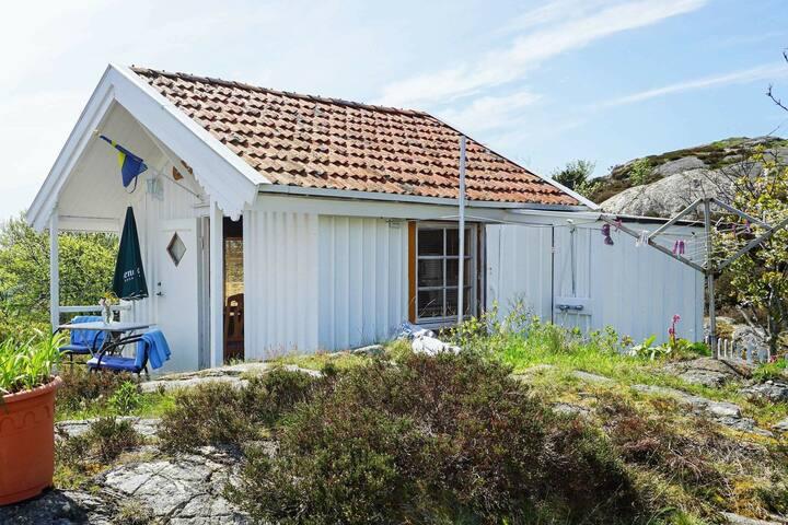 2 personas casa en Gullholmen