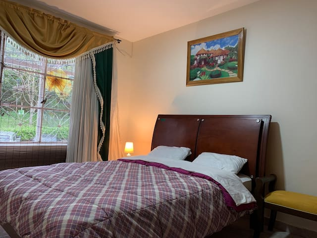 Esta habitación es para ti. Tranquilidad y confort