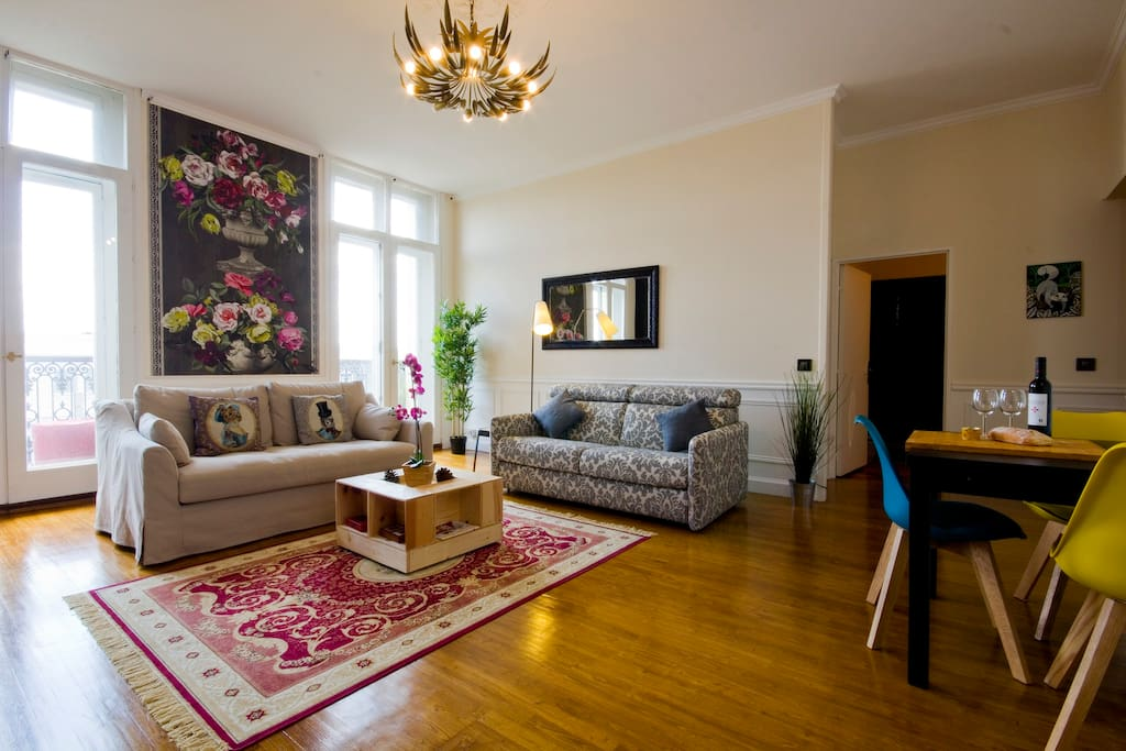 Salon et salle à manger / living and dining room