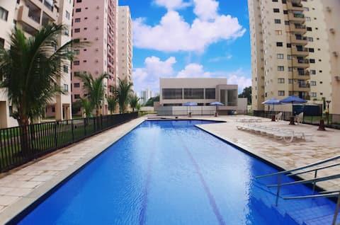 Spacious apartment in Nova Parnamirim