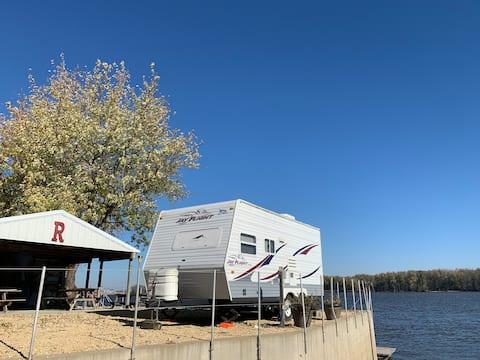 Riverfront Bunk Camper