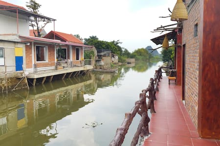 anh huong tam coc homestay - bungalow family