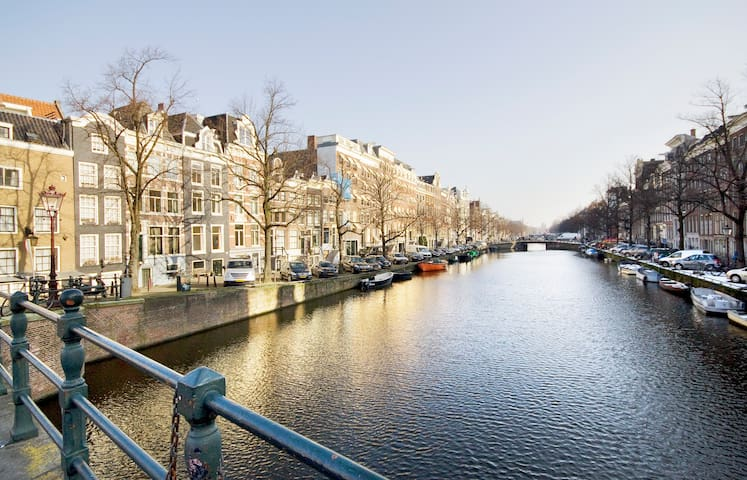 Real Authentic Canal House on Keizersgracht - Amsterdam - Casa