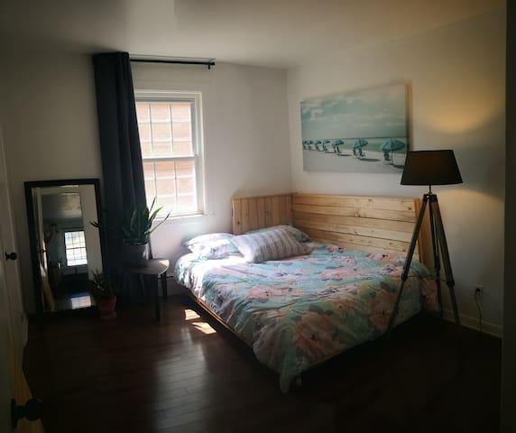 Magnifique chambre dans une maison au centro!